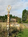 Signpost at Venson Bottom - geograph.org.uk - 589911.jpg