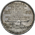 Silbermuenze Anhalt-Bernburg (Wiedervereinigung) hinten.png