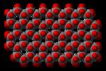T.v.: Silikattetraedern, SiO4, en neosilikat och grunden för mer avancerade silikater. T.h.: Skiktsilikat.