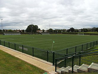 Hendon F.C. - Silver Jubilee Park in September 2016