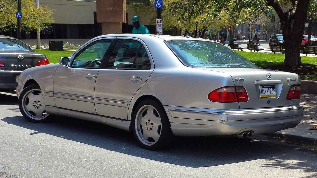 Mercedes W 210 >> Mercedes Benz E Class W210 Wikiwand