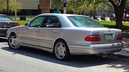 Mercedes-Benz E-Class (W210) - Wikiwand