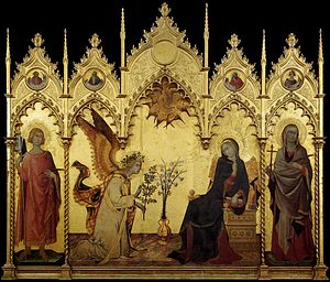 Simone Martini - The Annunciation and Two Saints - WGA21438.jpg
