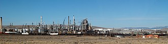 Sinclair, Wyoming - Sinclair Oil Refinery (2008)