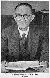 Thomas Hunter (psychologist) Anglo-New Zealand psychologist