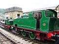 Sir Berkeley and Nunlow at The Keighley & Worth Valley Railway.jpg