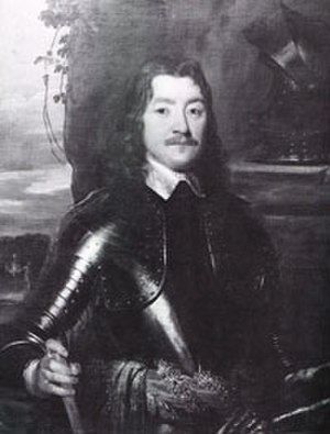 Charles Lucas - Sir Charles Lucas, Leader of the Royalist Forces at the Siege of Colchester, 19th century portrait after William Dobson (1611–1646), Colchester Castle Museum