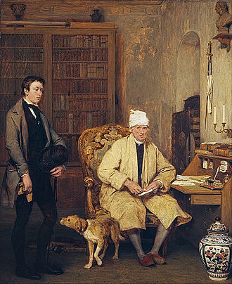 1813 in art - Image: Sir David Wilkie The Letter of Introduction Google Art Project
