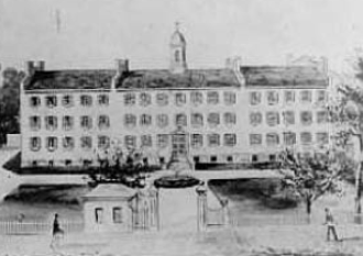 Sisters of Charity Hospital (Buffalo) - Sisters of Charity Hospital in 1848