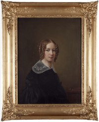 Självporträtt (Sophie Adlersparre) - Nationalmuseum - 174274.tif