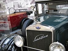 Laurin & Klement - Škoda 110 del 1925