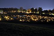 Skogskyrkogården at All Saints Day 2010-3.jpg