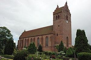 Slangerup - The church