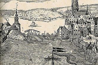 1642 in Sweden - Slussen 1642