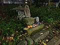 Small shrine in Shibuya, 10 meters away from Yamanote line.jpg