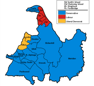 2000 Solihull Metropolitan Borough Council election