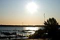 Solnedgang over havnen i Mariehamn pa aland.jpg