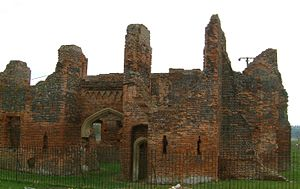 Someries Castle - Ruins of Someries Castle, Bedfordshire
