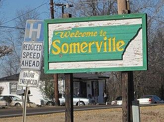 Somerville, Tennessee - Image: Somerville TN 01 2012 001