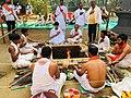 Somvati yag at Veerabhadra Devasthan Vadhav in presence of Balyogi Om Shakti Maharaj. 24.jpg