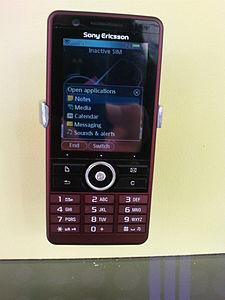 Sony Ericsson G900 – Wikipedia
