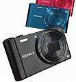 Sony Cyber-shot DSC-WX300 in verschillende kleuren 23 Mar. 2013 crop.jpg