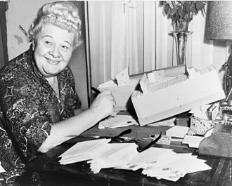 Sophie Tucker - Tucker in 1952