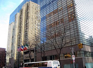 York Avenue / Sutton Place - Auction house Sotheby's headquarters on York Avenue between 71st and 72nd Streets