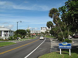 Route A1A facing North