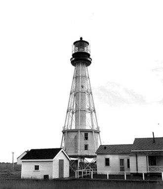 South Pass Light - Image: South Pass Light undated post 1900