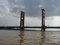 South Sumatra, Palembang, Ampera bridge.jpg