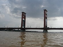 South Sumatra, Palembang, Ampera bridge.jpg
