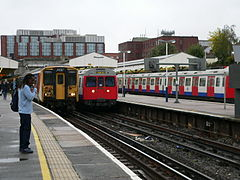 South West Trains 455913 - London Underground C-stock 5545.jpg