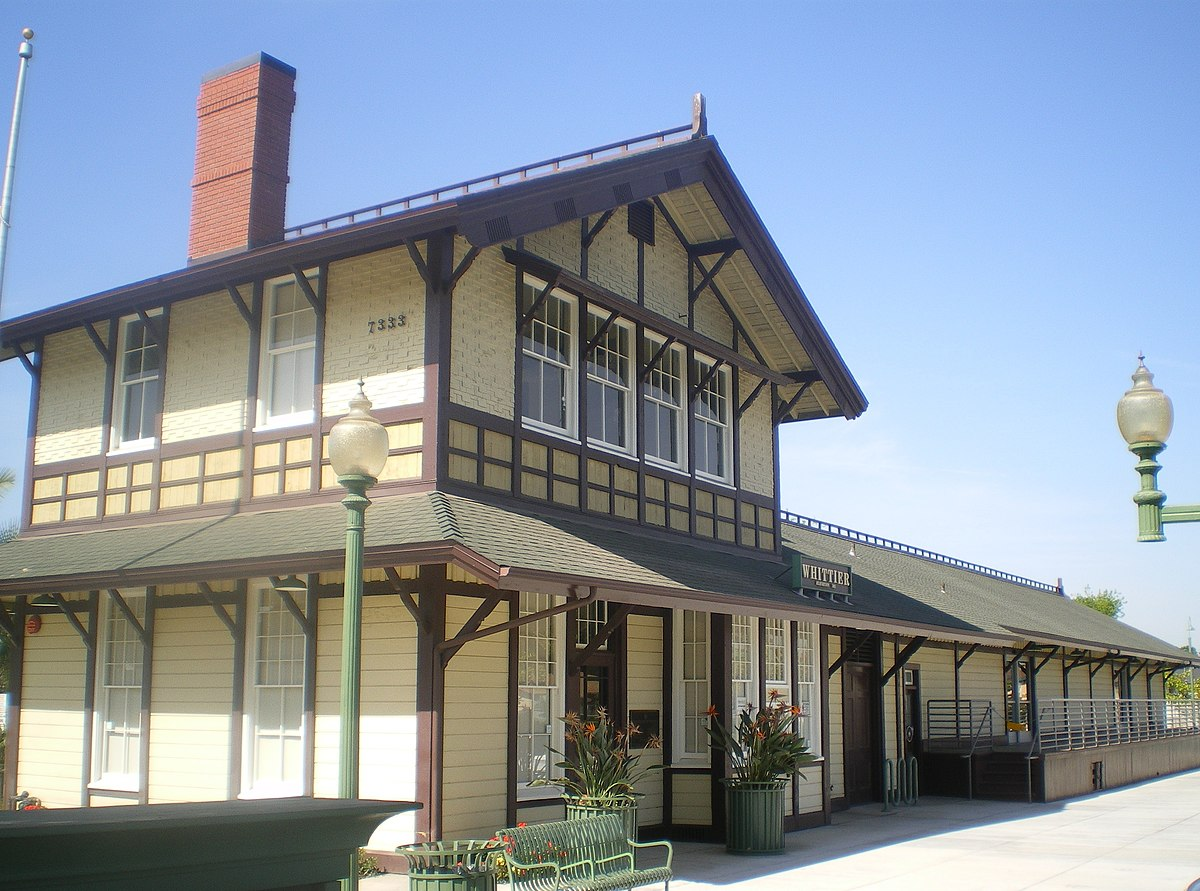 Southern Pacific Railroad Depot Whittier Wikipedia