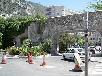 Flat Bastion - Image: Southport Gates
