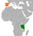 Spain Tanzania Locator.png