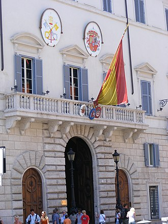 Diplomatic mission - Spanish Embassy to the Holy See and the Sovereign Military Order of Malta