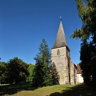 Sparsholt, Oxfordshire - Image: Sparsholt Holy Rood WSW