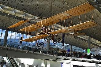 Aviation history of Hong Kong - Image: Spirit Of Sha Tin Replica 3