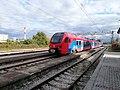 Srbija Voz Train Arriving at Čačak Railway Station.jpg