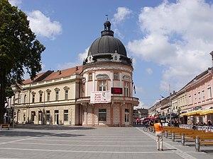 Sremska Mitrovica - Sremska Mitrovica downtown.