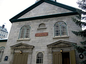 St. Andrew's Church (Quebec City) - Image: St. Andrew's Presbyterian Church Quebec City
