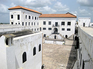 Elmina - Elmina Castle (St. George of the Mine Castle)
