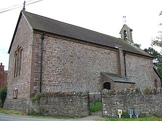 Wollaston, Shropshire - Image: St. John the Baptist at Wollaston geograph.org.uk 537639