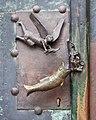 St. Sebastian (Magdeburg-Altstadt).Seitenportal.Türgriff.ajb.jpg