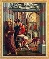 St. Wolfgang kath. Pfarrkirche Pacher-Altar Steinigung 01.jpg