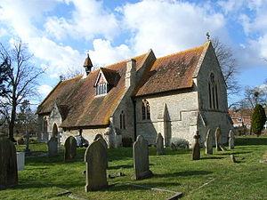 Westcott, Buckinghamshire - Image: St Marys Westcott(Andrew Smith)Mar 2006