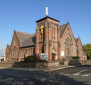 Henry Hill Vale (architect) - St Andrews United Church, New Brighton