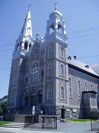Hintonburg - Saint-Francois d'Assise Church on Wellington