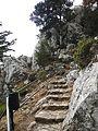 St Hilarion Treppe zum Sektor 3.jpg